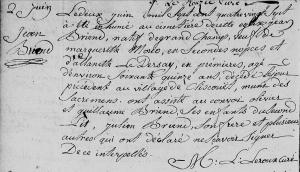 000196 - Brien, Jean - acte de deces - 02-06-1787 - Saint-Patern - Vannes
