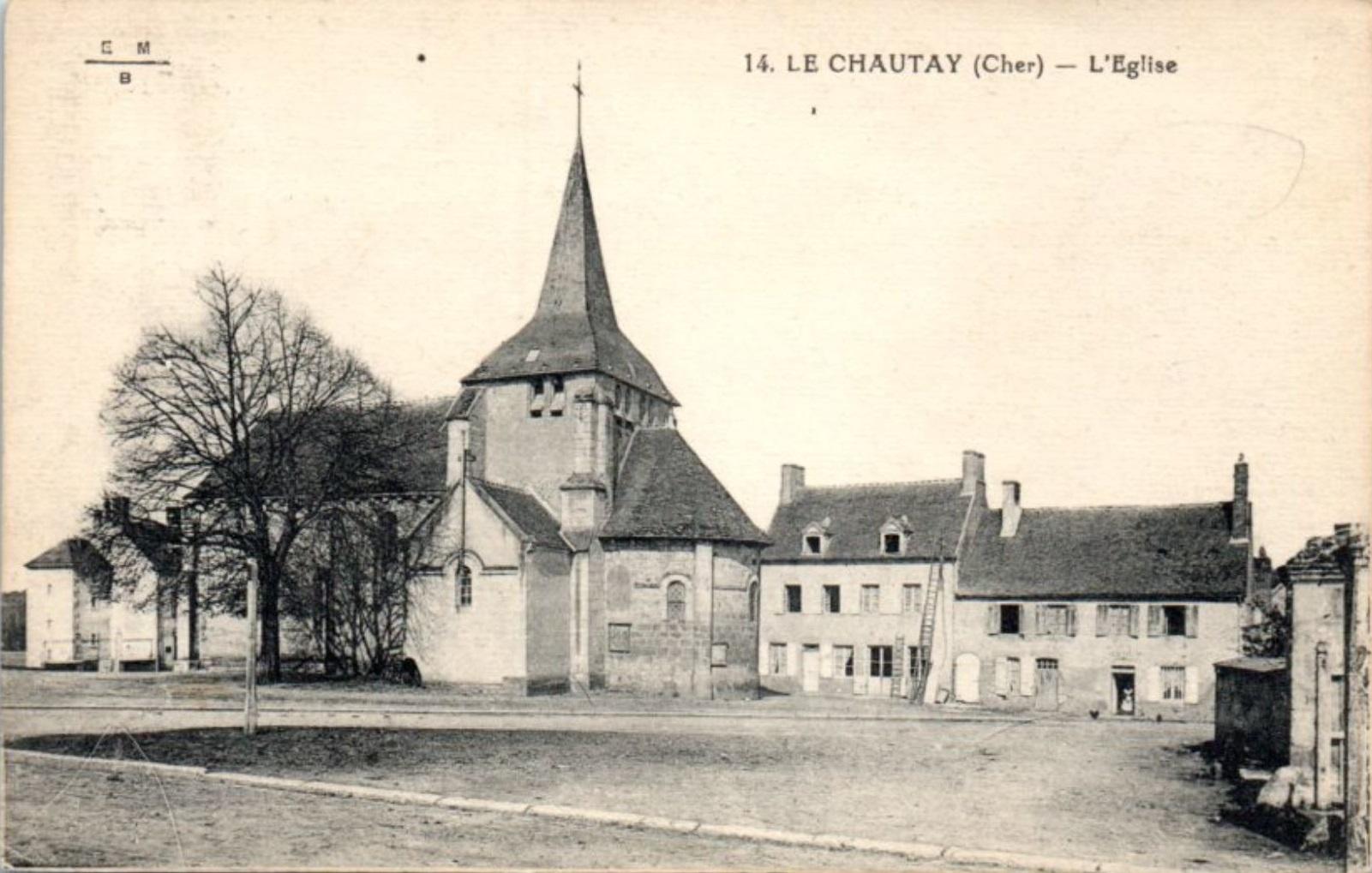 Le Chautay - La Place de l'Eglise