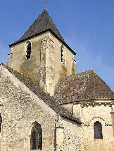 Eglise du Gravier - La Guerche-sur-l'Aubois (source: https://fr.wikipedia.org/wiki/Eglise_Saint-Etienne_de_La_Guerche-sur-l'Aubois)