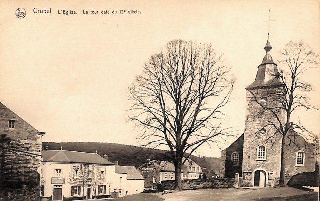 Carte postale de Crupe - L'église