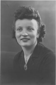 Aubé, Micheline Raymonde Lucienne (sosa 5) - vers 1948